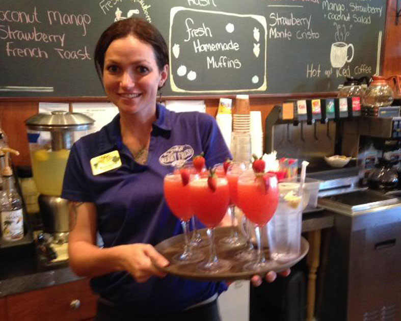 Berry Fresh Cafe Service With A Smile