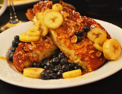 Berry Fresh Cafe Bananas & Blueberry Foster French Toast