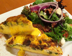 Berry Fresh Cafe Quiche & Salad